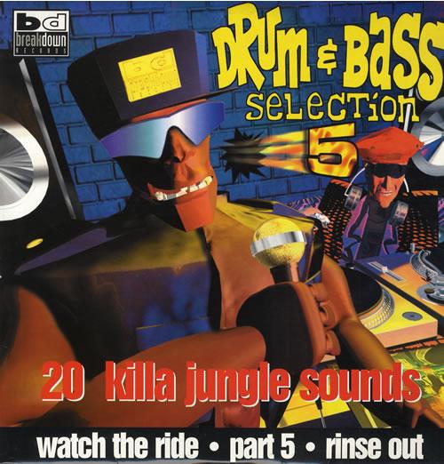Various-Drum & Bass Jungle Drum N Bass Collection 5 2-LP vinyl record set (Double Album) UK V-C2LDR562140