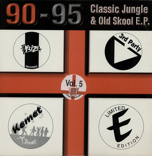 "Various-Drum & Bass Jungle Jungle & Old Skool Classics 12"" vinyl single (12 inch record / Maxi-single) UK V-C12JU580159"