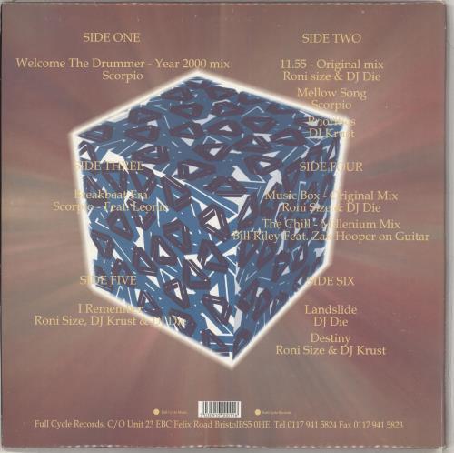 Various-Drum & Bass Jungle Music Box: A New Era In Drum & Bass 3-LP vinyl record set (Triple Album) UK V-C3LMU711489