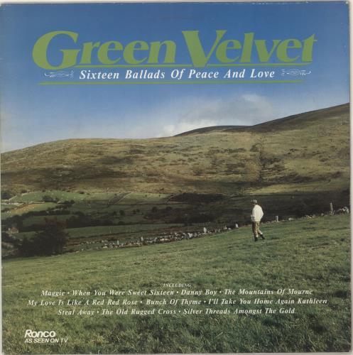 Various-Easy Listening Green Velvet vinyl LP album (LP record) UK VLELPGR685507