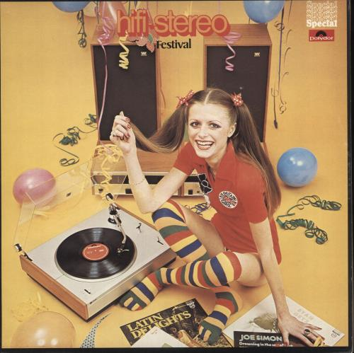 Various-Easy Listening Hi-Fi Stereo Festival vinyl LP album (LP record) UK VLELPHI745209