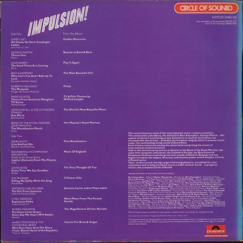 Various-Easy Listening Impulsion! vinyl LP album (LP record) UK VLELPIM771155