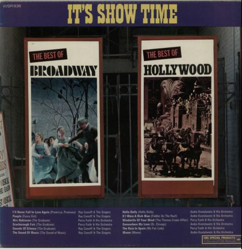 Various-Easy Listening It's Show Time vinyl LP album (LP record) UK VLELPIT622425
