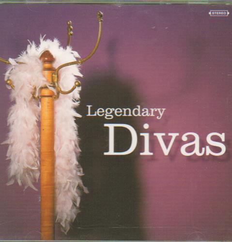 Various-Easy Listening Legendary Divas CD album (CDLP) UK VLECDLE657977