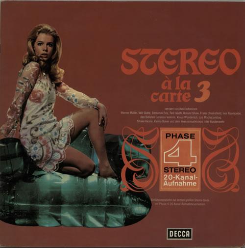 Various-Easy Listening Stereo À La Carte 3 vinyl LP album (LP record) German VLELPST638085