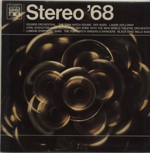 Various-Easy Listening Stereo '68 vinyl LP album (LP record) UK VLELPST683175