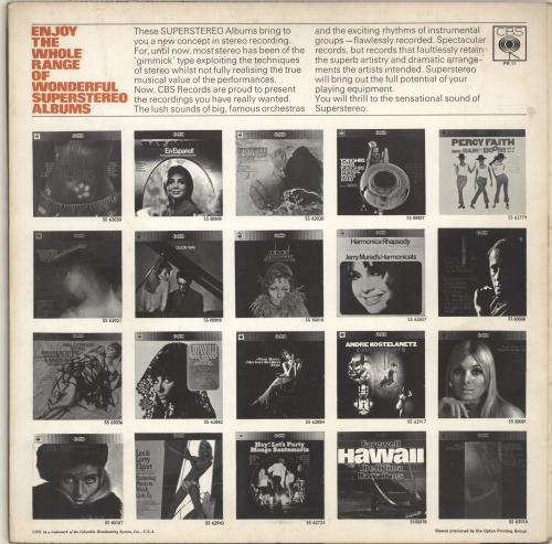 Various-Easy Listening Superstereo Sensation vinyl LP album (LP record) UK VLELPSU638200
