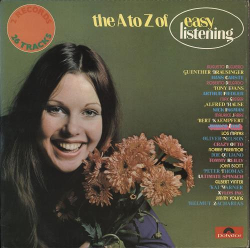Various-Easy Listening The A to Z of Easy Listening 2-LP vinyl record set (Double Album) UK VLE2LTH716428