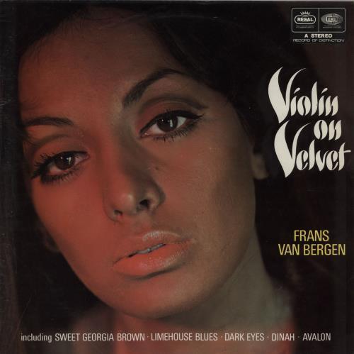 Various-Easy Listening Violin On Velvet vinyl LP album (LP record) UK VLELPVI760720