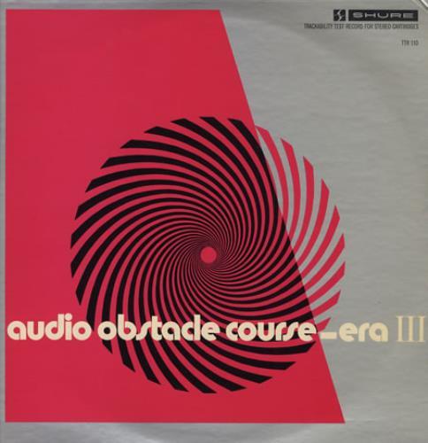 Various-Educational, Informational & Historical An Audio Obstacle Course - Era III + Insert vinyl LP album (LP record) US VBZLPAN404472