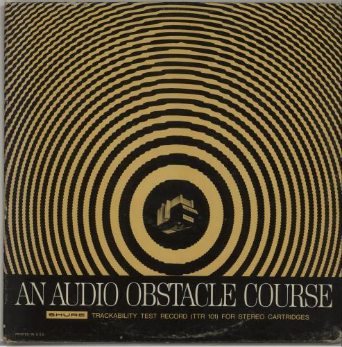 Various-Educational, Informational & Historical An Audio Obstacle Course - Shure Trackability Test Record vinyl LP album (LP record) US VBZLPAN674971