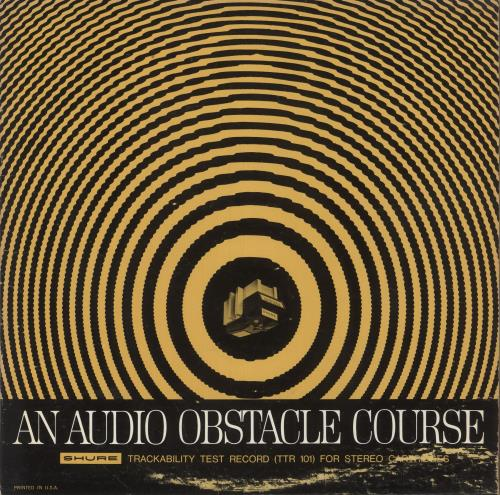Various-Educational, Informational & Historical An Audio Obstacle Course - Shure Trackability Test Record vinyl LP album (LP record) US VBZLPAN748850