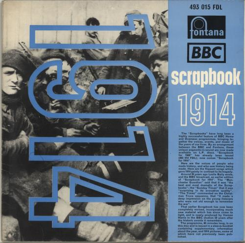 Various-Educational, Informational & Historical BBC Scrapbook For 1914 vinyl LP album (LP record) UK VBZLPBB697049
