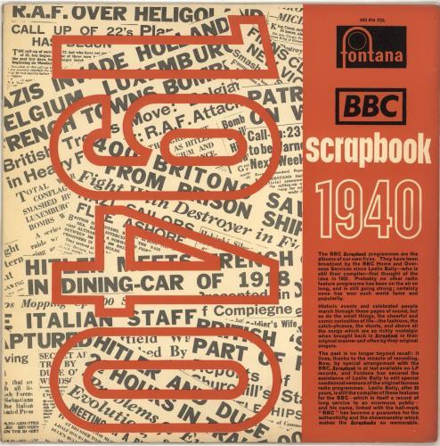 Various-Educational, Informational & Historical BBC Scrapbook For 1940 vinyl LP album (LP record) UK VBZLPBB697051