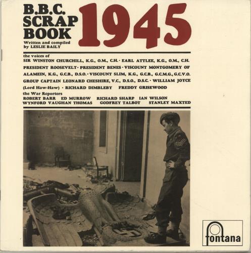 Various-Educational, Informational & Historical BBC Scrapbook For 1945 vinyl LP album (LP record) UK VBZLPBB696936