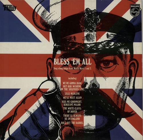Various-Educational, Informational & Historical Bless 'em All vinyl LP album (LP record) UK VBZLPBL635611