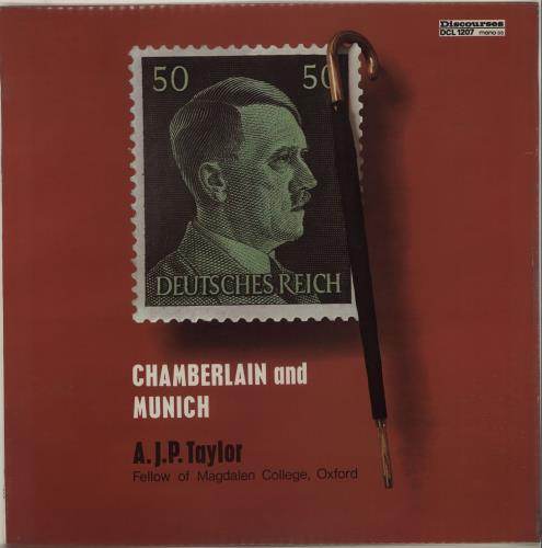 Various-Educational, Informational & Historical Chamberlain And Munich vinyl LP album (LP record) UK VBZLPCH656631