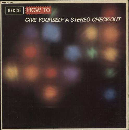 Various-Educational, Informational & Historical How To Give Yourself A Stereo Check-Out vinyl LP album (LP record) UK VBZLPHO701420