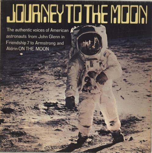 Various-Educational, Informational & Historical Journey To The Moon vinyl LP album (LP record) UK VBZLPJO695656