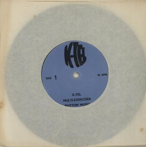 "Various-Educational, Informational & Historical K-Tel Multi-Exerciser Rhythm Music 7"" vinyl single (7 inch record) UK VBZ07KT680433"
