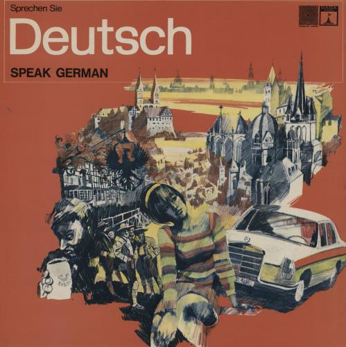 Various-Educational, Informational & Historical Speak German vinyl LP album (LP record) UK VBZLPSP760842