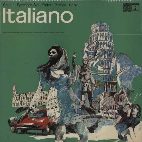 Various-Educational, Informational & Historical Speak Italian - Parlate Italiano vinyl LP album (LP record) UK VBZLPSP760844