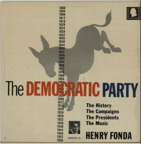 Various-Educational, Informational & Historical The Democratic Party vinyl LP album (LP record) US VBZLPTH655041