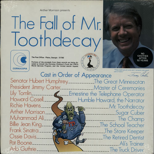 Various-Educational, Informational & Historical The Fall Of Mr. Toothdecay - Sealed vinyl LP album (LP record) US VBZLPTH580812