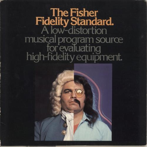 Various-Educational, Informational & Historical The Fisher Fidelity Standard vinyl LP album (LP record) US VBZLPTH748936