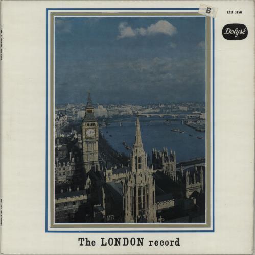 Various-Educational, Informational & Historical The London Record vinyl LP album (LP record) UK VBZLPTH680167