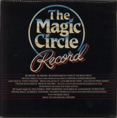 Various-Educational, Informational & Historical The Magic Circle Record - Yellow Vinyl vinyl LP album (LP record) UK VBZLPTH671304