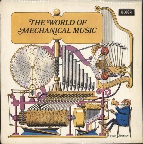 Various-Educational, Informational & Historical The World Of Mechanical Music vinyl LP album (LP record) UK VBZLPTH721123