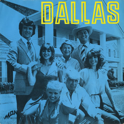 "Various-Film, Radio, Theatre & TV Dallas / The Waltons 7"" vinyl single (7 inch record) UK FVA07DA562961"