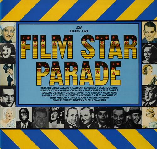 Various-Film, Radio, Theatre & TV Film Star Parade vinyl LP album (LP record) UK FVALPFI552880