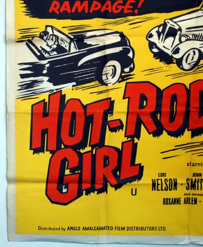 Various-Film, Radio, Theatre & TV Hot-Rod Girl poster UK FVAPOHO708662
