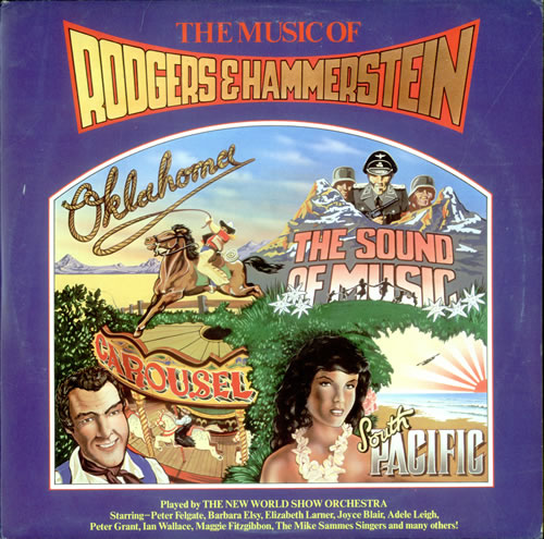 Various-Film, Radio, Theatre & TV The Music Of Rodgers & Hammerstein 2-LP vinyl record set (Double Album) UK FVA2LTH523652