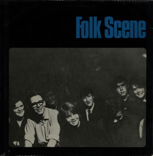 Various-Folk Folk Scene vinyl LP album (LP record) UK V-FLPFO596760