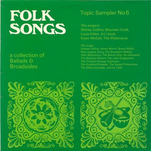 Various-Folk Folk Songs - A Collection Of Ballads And Broadsides vinyl LP album (LP record) UK V-FLPFO585093