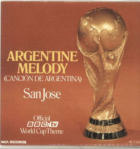 "Various-Football & Sport Argentine Melody + Sleeve 7"" vinyl single (7 inch record) UK FSP07AR117114"
