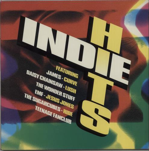 Various Indie Indie Hits Uk Vinyl Lp Album Lp Record
