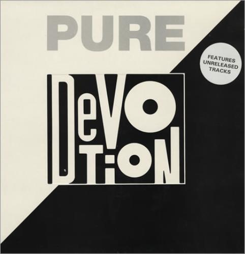 Various-Industrial & Avant-Garde Pure Devotion 2-LP vinyl record set (Double Album) UK VR12LPU393842