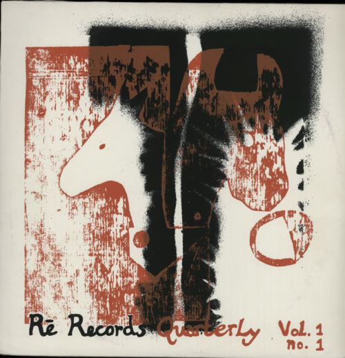 Various-Industrial & Avant-Garde Re Records Quarterly Vol. 1 No. 1 & 2 2-LP vinyl record set (Double Album) UK VR12LRE591627