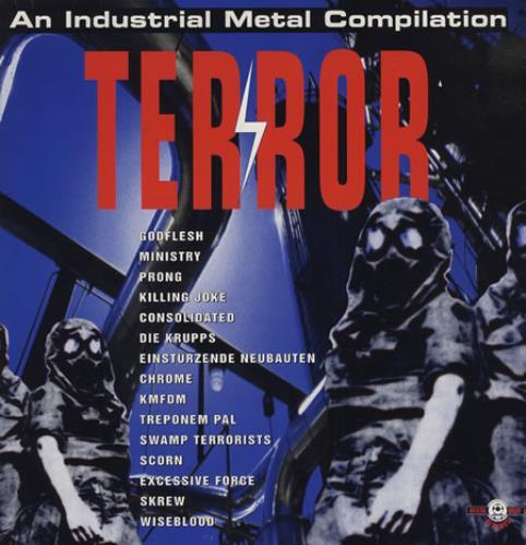 Various-Industrial & Avant-Garde Terror - An Industrial Metal Compilation 2-LP vinyl record set (Double Album) German VR12LTE413012