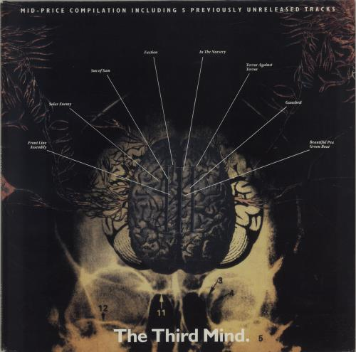 Various-Industrial & Avant-Garde The Third Mind vinyl LP album (LP record) Dutch VR1LPTH687720