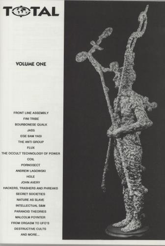 Various-Industrial & Avant-Garde Total - Clear Vinyl + Booklet vinyl LP album (LP record) French VR1LPTO656295