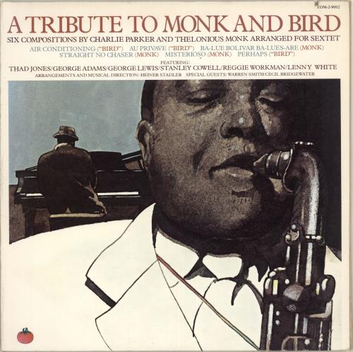 Various-Jazz A Tribute To Monk And Bird 2-LP vinyl record set (Double Album) US V-J2LAT714285