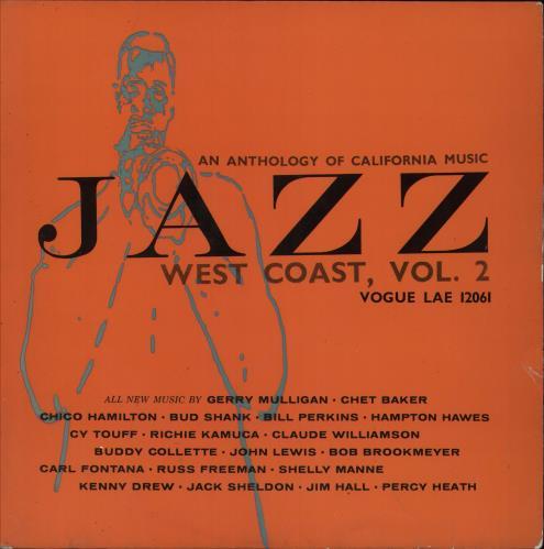 Various-Jazz An Anthology Of California Music - Jazz West Coast, Vol. 2 vinyl LP album (LP record) UK V-JLPAN746762