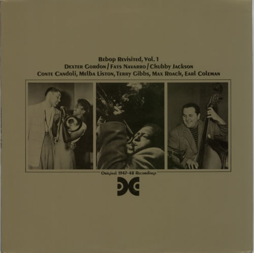 Various-Jazz BeBop Revisited, Vol.1 vinyl LP album (LP record) French V-JLPBE587831