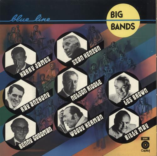 Various-Jazz Big Bands 2-LP vinyl record set (Double Album) Belgian V-J2LBI732199