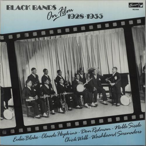 Various-Jazz Black Bands On Film 1928-1935 vinyl LP album (LP record) UK V-JLPBL669608
